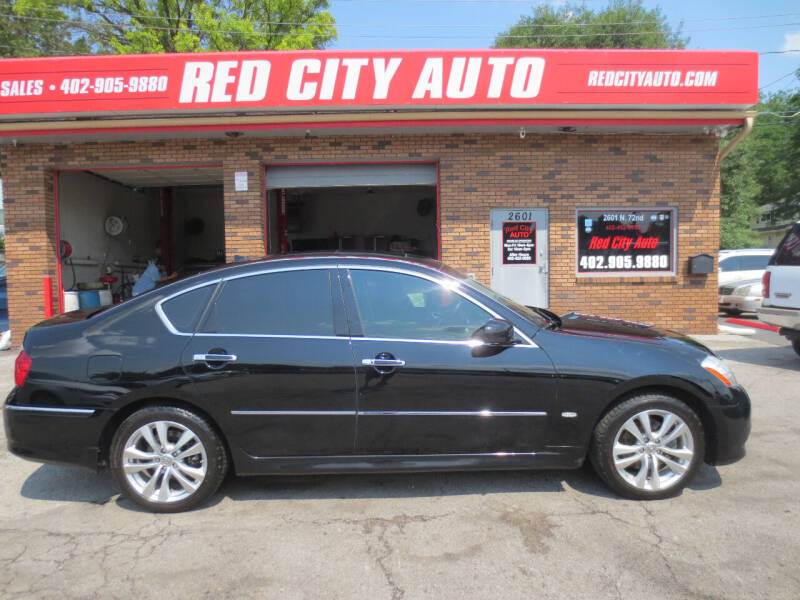 2010 Infiniti M35 for sale at Red City  Auto in Omaha NE