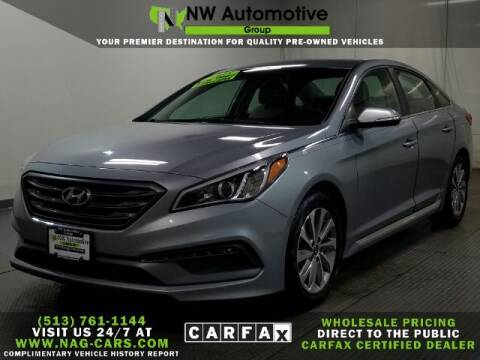 2015 Hyundai Sonata for sale at NW Automotive Group in Cincinnati OH