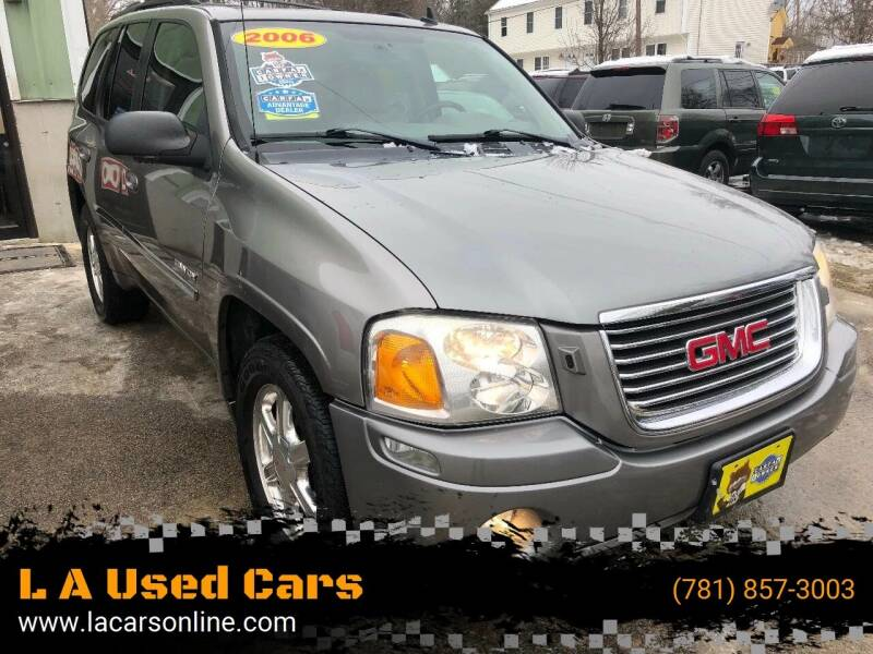 2006 GMC Envoy for sale at L A Used Cars in Abington MA