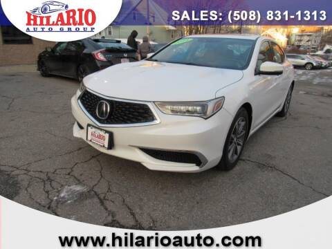 2018 Acura TLX for sale at Hilario's Auto Sales in Worcester MA