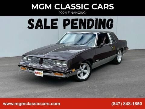 1986 Oldsmobile Cutlass Salon for sale at MGM CLASSIC CARS in Addison IL