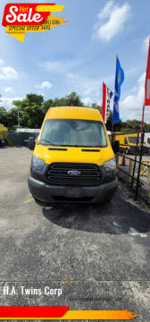 2017 Ford Transit Cargo for sale at H.A. Twins Corp in Miami FL