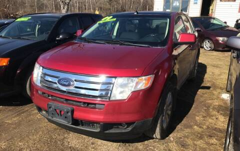 2009 Ford Edge for sale at Richard C Peck Auto Sales in Wellsville NY