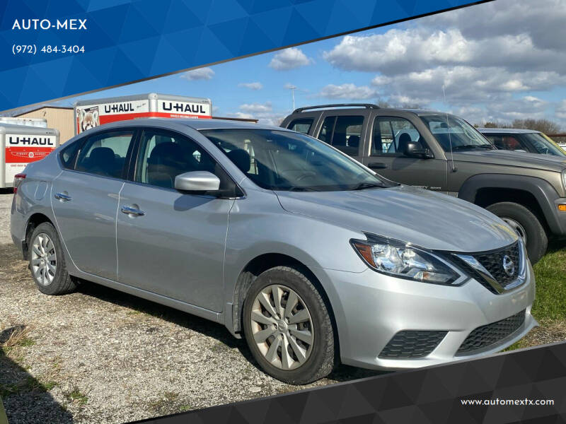 2016 Nissan Sentra for sale at AUTO-MEX in Caddo Mills TX