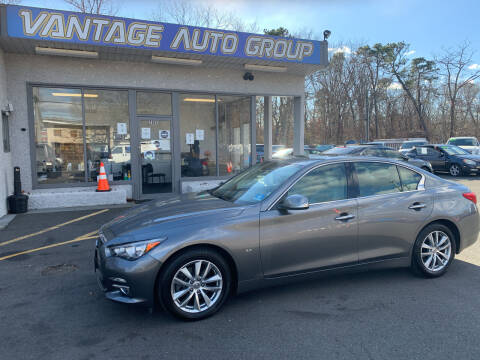 2015 Infiniti Q50 for sale at Vantage Auto Group in Brick NJ