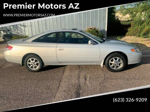 2001 Toyota Camry Solara for sale at Premier Motors AZ in Phoenix AZ