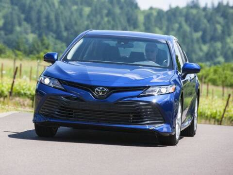 2018 Toyota Camry for sale at APPLE HONDA in Riverhead NY