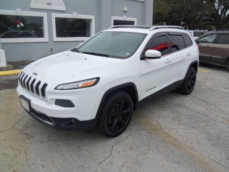 2014 Jeep Cherokee for sale at ORANGE PARK AUTO in Jacksonville FL