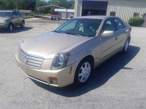 2005 Cadillac CTS for sale at Brewster Used Cars in Anderson SC