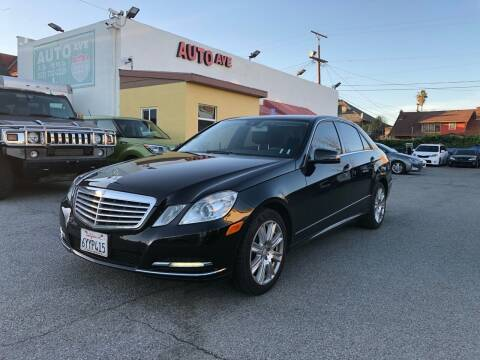 2013 Mercedes-Benz E-Class for sale at Auto Ave in Los Angeles CA