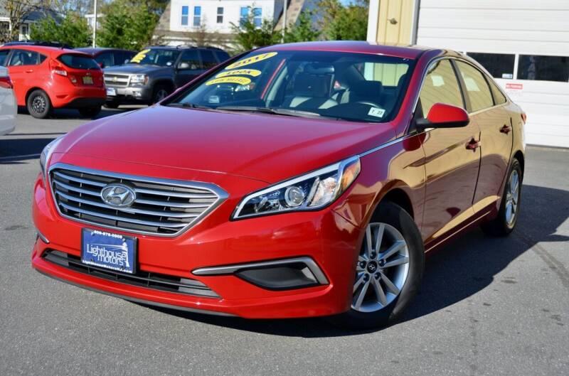 2017 Hyundai Sonata for sale at Lighthouse Motors Inc. in Pleasantville NJ