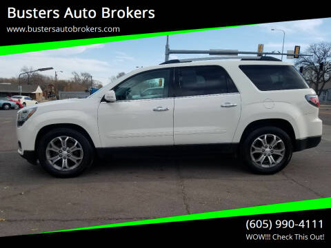 2014 GMC Acadia for sale at Busters Auto Brokers in Mitchell SD