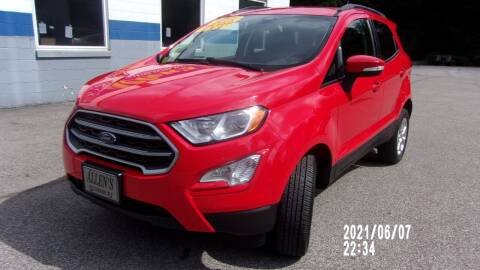 2018 Ford EcoSport for sale at Allen's Pre-Owned Autos in Pennsboro WV