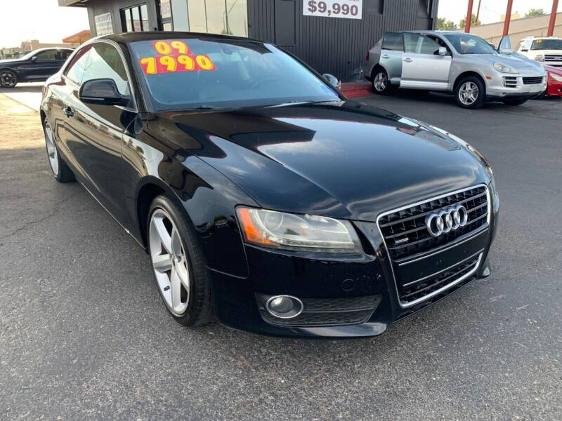 2009 Audi A5 for sale at JQ Motorsports East in Tucson AZ