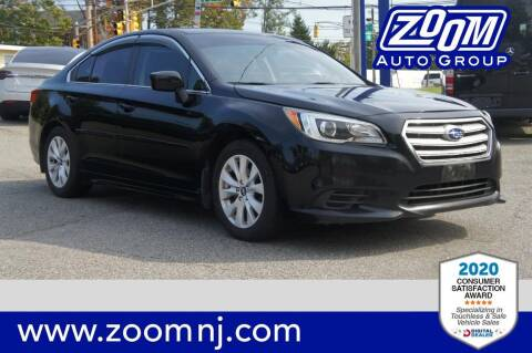 2016 Subaru Legacy for sale at Zoom Auto Group in Parsippany NJ