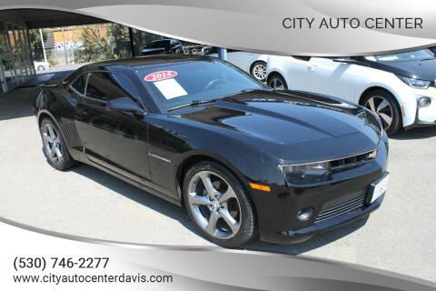 2014 Chevrolet Camaro for sale at City Auto Center in Davis CA