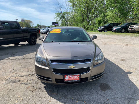 2012 Chevrolet Malibu for sale at Community Auto Brokers in Crown Point IN