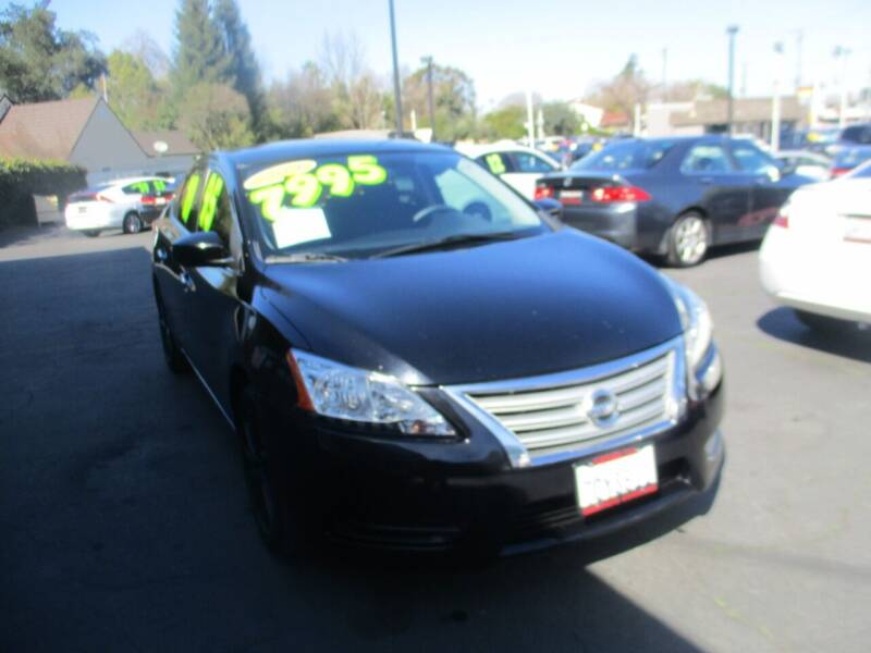 2014 Nissan Sentra for sale at Quick Auto Sales in Modesto CA