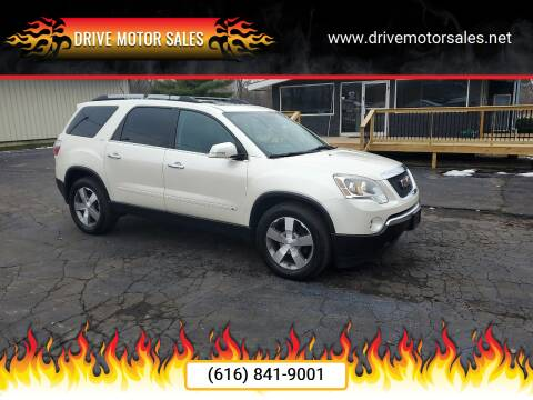 2010 GMC Acadia for sale at Drive Motor Sales in Ionia MI