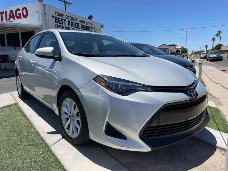 2018 Toyota Corolla for sale at DESANTIAGO AUTO SALES in Yuma AZ