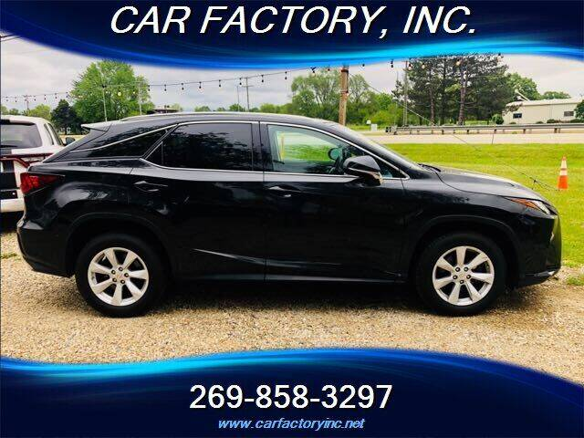 2017 Lexus RX 350 for sale at Car Factory Inc. in Three Rivers MI