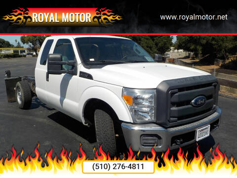 2012 Ford F-250 Super Duty for sale at Royal Motor in San Leandro CA