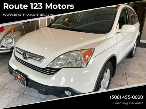 2009 Honda CR-V for sale at Route 123 Motors in Norton MA