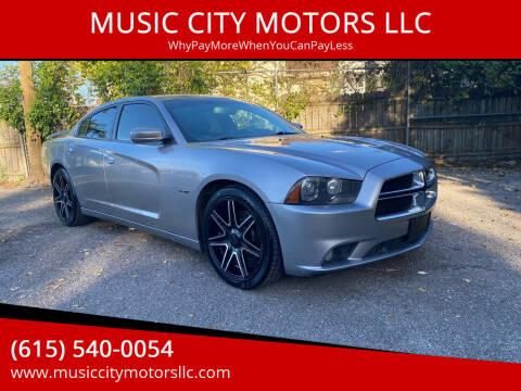 2014 Dodge Charger for sale at MUSIC CITY MOTORS LLC in Nashville TN