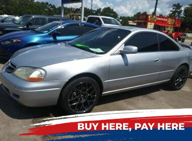 2003 Acura CL for sale at All Star Auto Sales of Raleigh Inc. in Raleigh NC