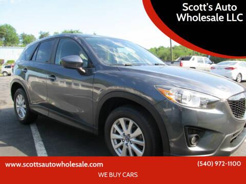 2013 Mazda CX-5 for sale at Scott's Auto Wholesale LLC in Locust Grove VA