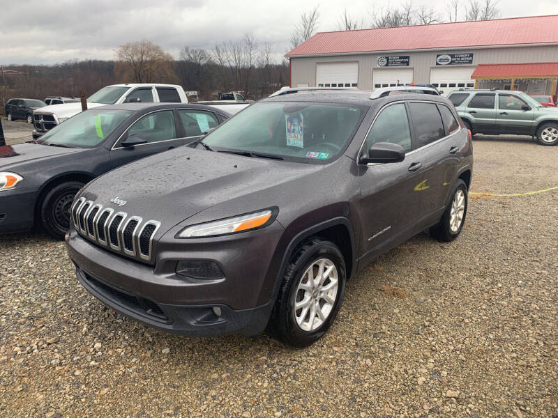 2016 Jeep Cherokee for sale at Simon Automotive in East Palestine OH