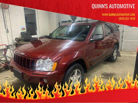 2007 Jeep Grand Cherokee for sale at QUINN'S AUTOMOTIVE in Leominster MA