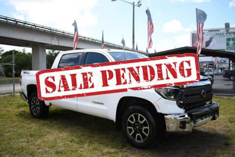 2019 Toyota Tundra for sale at ELITE MOTOR CARS OF MIAMI in Miami FL