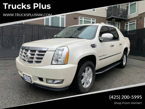 2008 Cadillac Escalade EXT for sale at Trucks Plus in Seattle WA