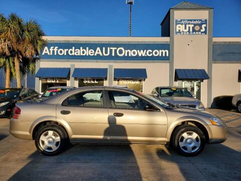 2004 Dodge Stratus for sale at Affordable Autos in Houma LA