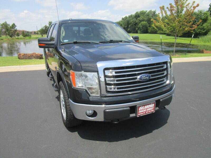 2013 Ford F-150 for sale at Oklahoma Trucks Direct in Norman OK