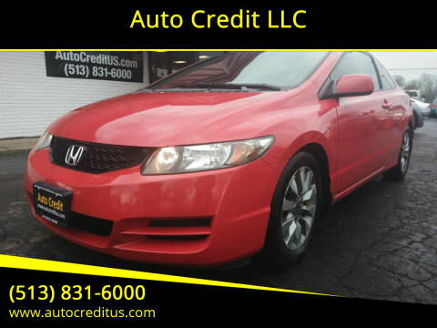 2009 Honda Civic for sale at Auto Credit LLC in Milford OH