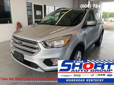 2018 Ford Escape for sale at Tim Short Chrysler in Morehead KY