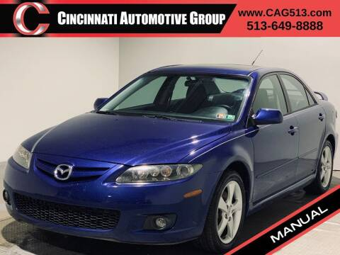 2006 Mazda MAZDA6 for sale at Cincinnati Automotive Group in Lebanon OH