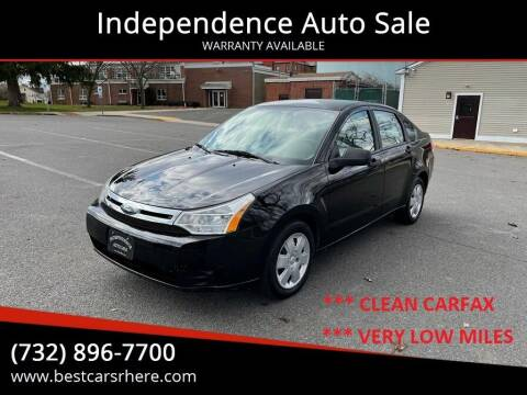 2010 Ford Focus for sale at Independence Auto Sale in Bordentown NJ