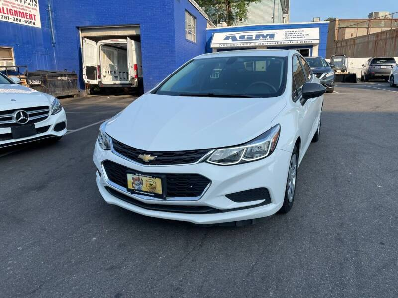2017 Chevrolet Cruze for sale at AGM AUTO SALES in Malden MA