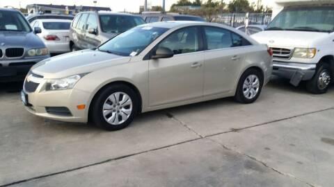 2012 Chevrolet Cruze for sale at Dubik Motor Company in San Antonio TX