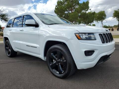 2015 Jeep Grand Cherokee for sale at AZ WORK TRUCKS AND VANS in Mesa AZ