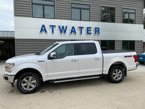 2018 Ford F-150 for sale at Atwater Ford Inc in Atwater MN