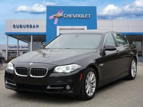 2016 BMW 5 Series for sale at Suburban Chevrolet of Ann Arbor in Ann Arbor MI
