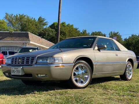 1999 Cadillac Eldorado for sale at Texas Select Autos LLC in Mckinney TX