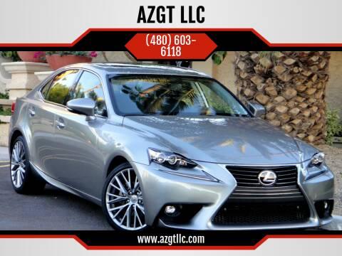 2016 Lexus IS 200t for sale at AZGT LLC in Phoenix AZ