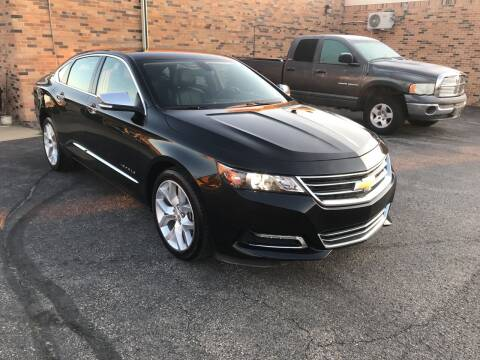 2018 Chevrolet Impala for sale at Carney Auto Sales in Austin MN