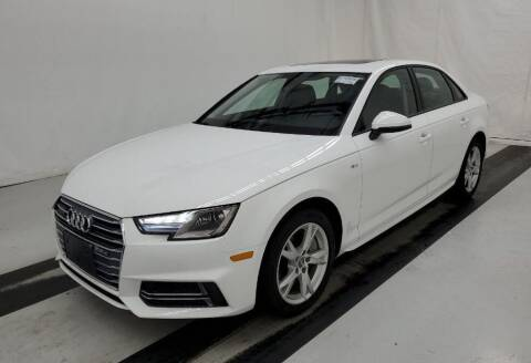 2018 Audi A4 for sale at BMW OF NEWPORT in Middletown RI