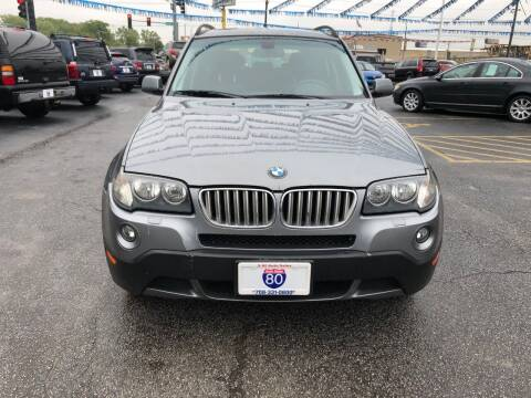 2009 BMW X3 for sale at I-80 Auto Sales in Hazel Crest IL